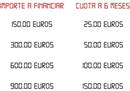 Importe a financiar